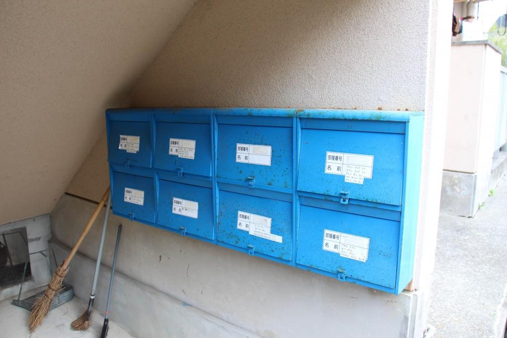 每一戶會有一個信箱,您也可以多加利用。