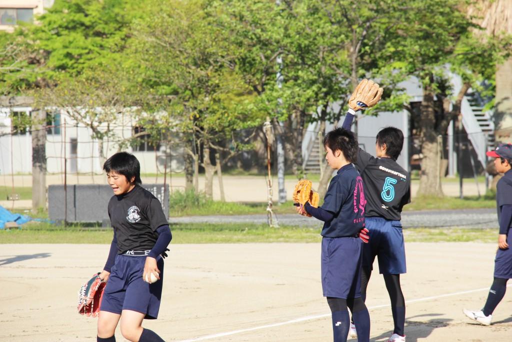 軟式手球,青春正洋溢。