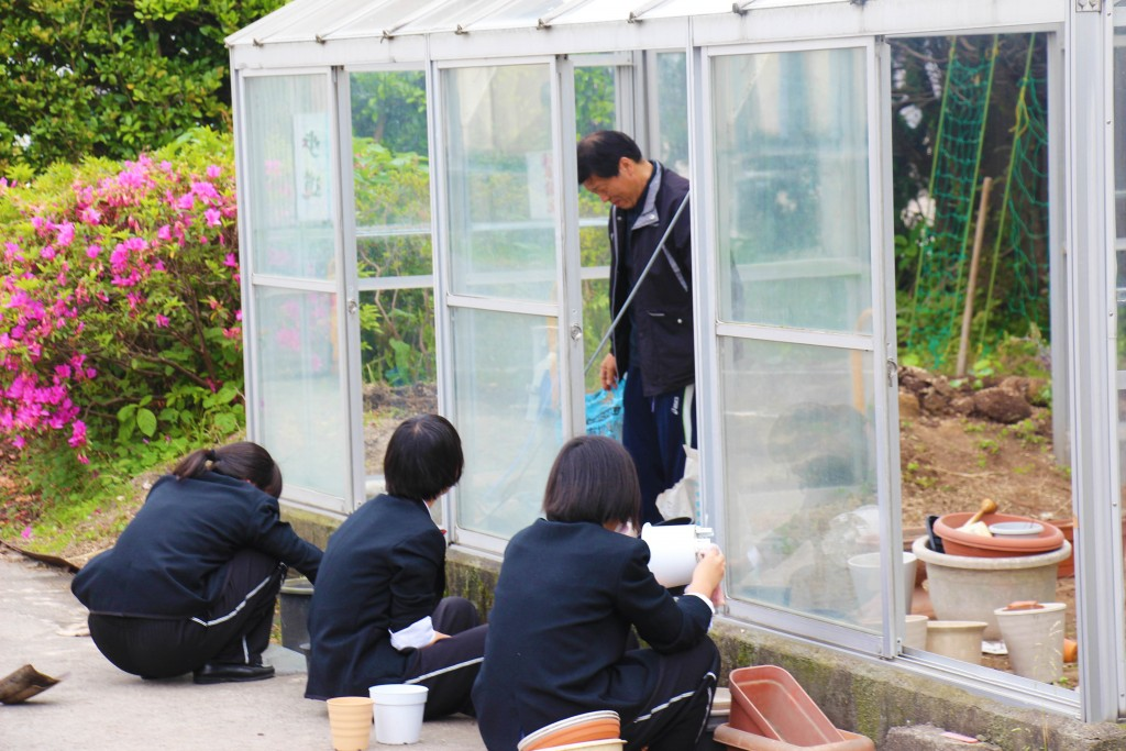 園藝社,學習栽種花卉,讓自己更親近自然。