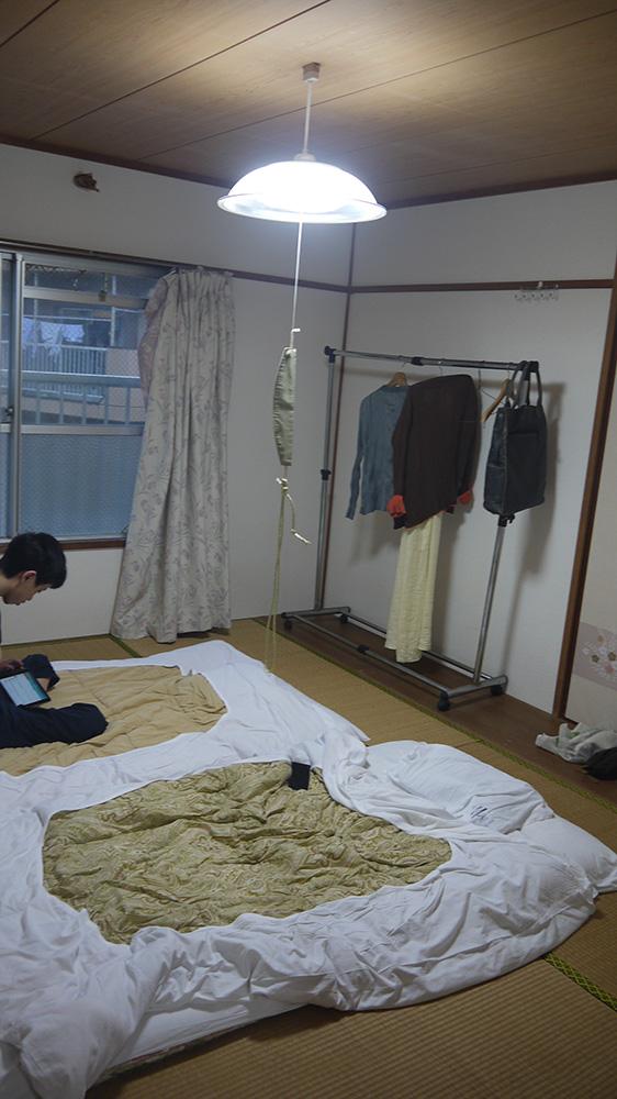 其中一間房間一景。