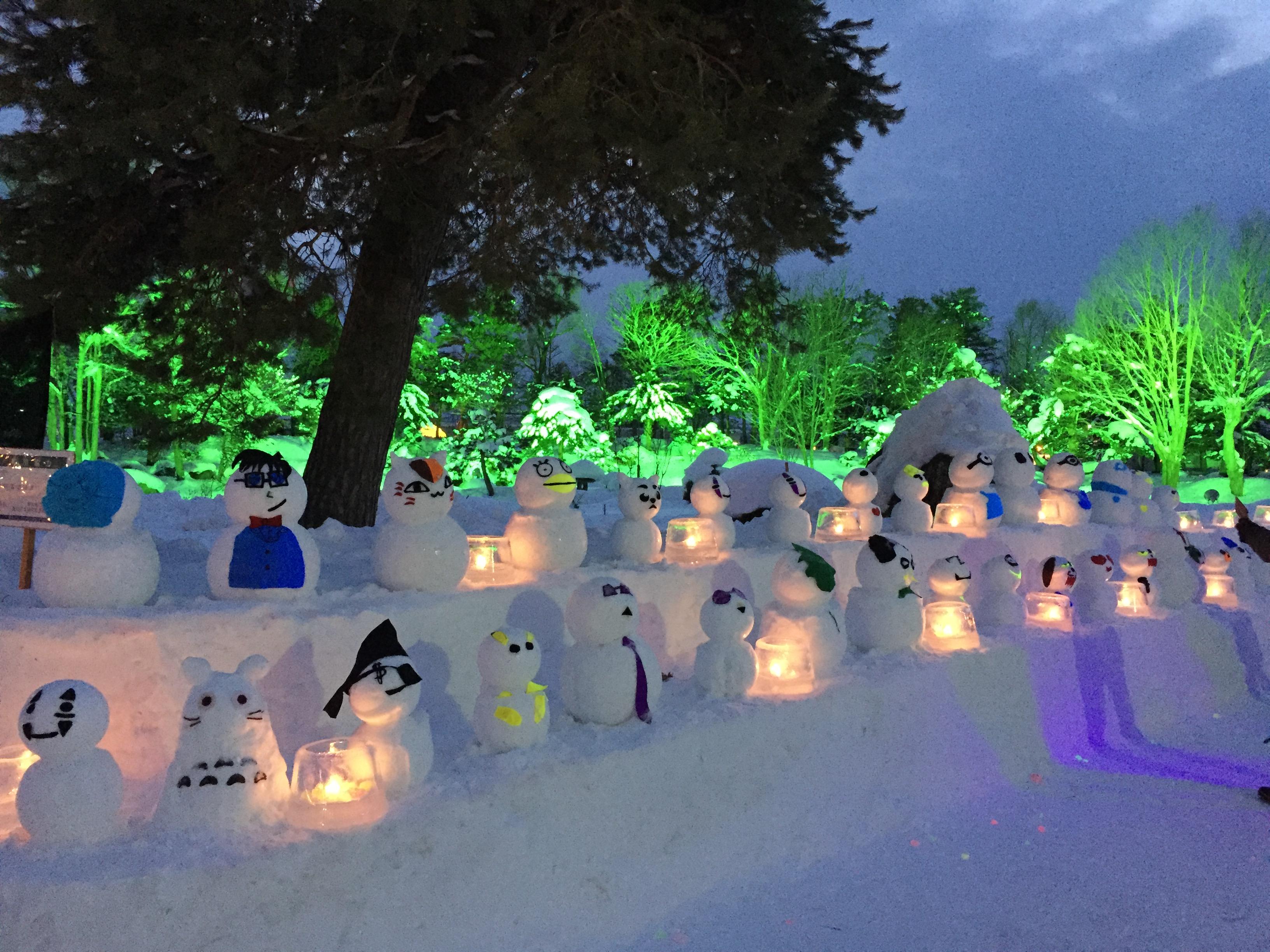 東川冰之祭典 一起動手做雪像!