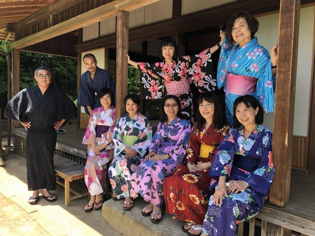 日本武士官邸 浴衣體驗