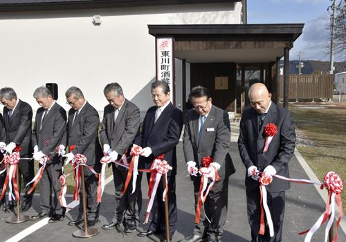 公設民營的酒窖開幕 目標增加特產品的東川町