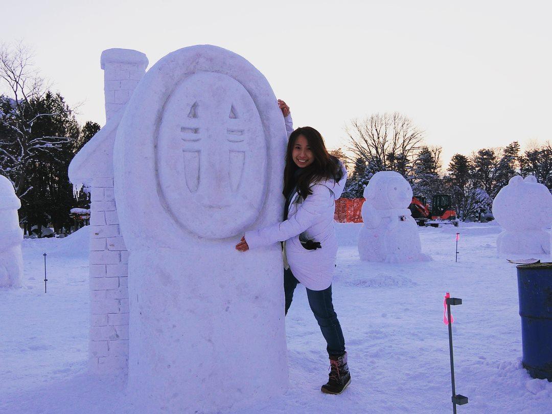 第44回東川町氷祭り 玩雪玩冰看煙火!